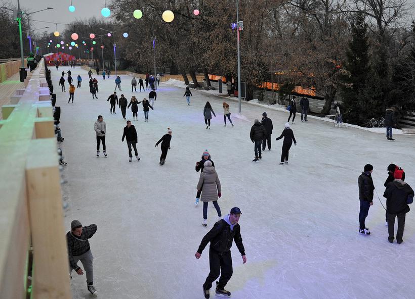 Катание на коньках при варикозе