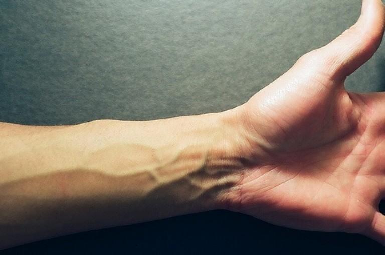 Как сделать так чтобы вены на руках 13